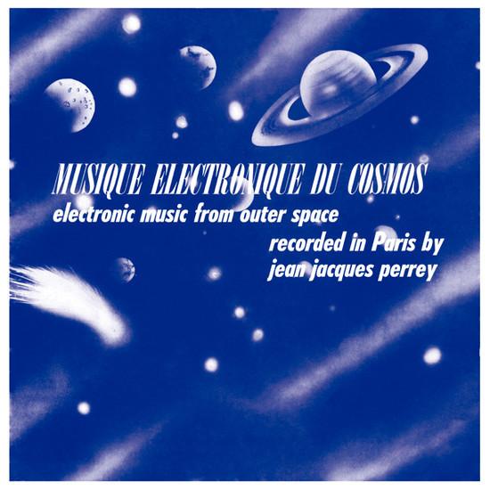 JEAN-JACQUES PERREY - Musique Electronique Du Cosmos (LP,RE Wah Wah 1962,2017)