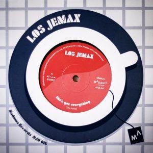 JEMAX, LOS - Los Jemax III (SG Madmua Records 2018)