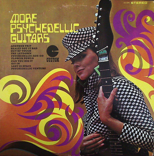 JERRY COLE - More Psychedellic Guitars (LP Custom 1967)