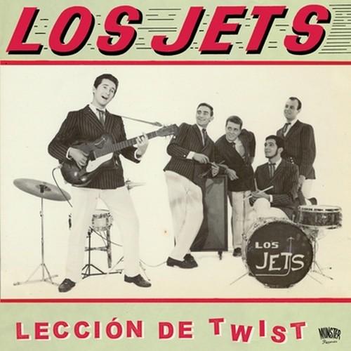 JETS, LOS - Leccion de Twist (LP+CD Munster Records 2018)