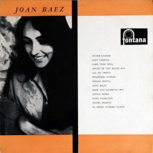 JOAN BAEZ - Joan Baez (LP Fontana 1960)