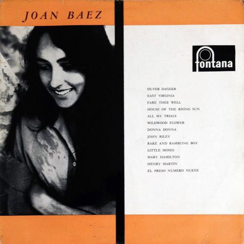 JOAN BAEZ – Joan Baez (LP Fontana 1960) 1