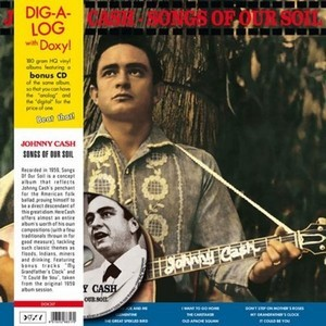 JOHNNY CASH - Songs Of Our Soil (LP,180g+CD Doxy 1959,2012)