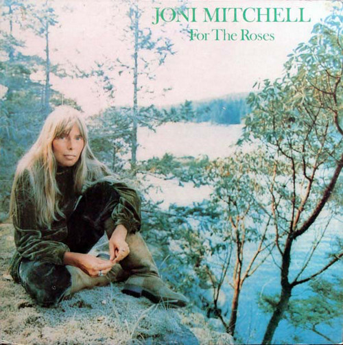 JONI MITCHELL – For the Roses (LP,GF Asylum 1972) 1
