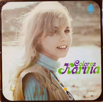 KARINA – Colores (LP Hispavox  1970) 1