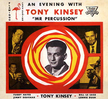 TONY KINSEY QUINTET - An Evening With Tony Kinsey Mr Percussion (LP,RE,180g Specialty,Future Noise 1961,2010)