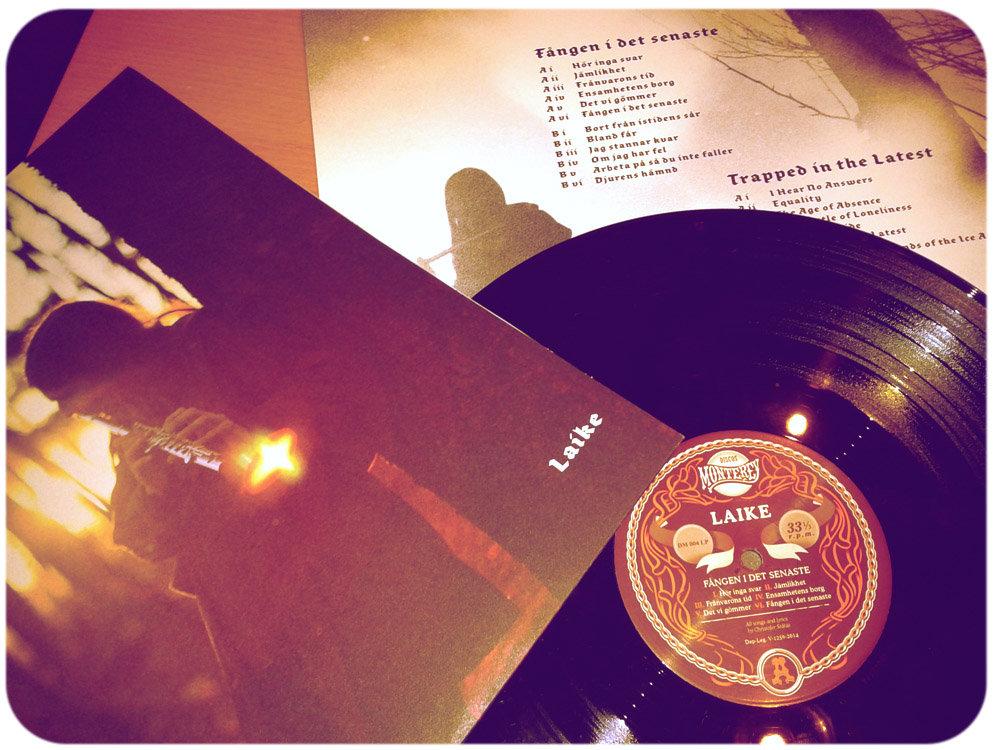 LAIKE - Fången i Det Senaste (Trapped In The Latest) (LP,180g,DieCut Discos Monterey 2014)
