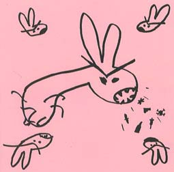 LIL BUNNIES - Bunnie Hole / Be Kind To The Animals (SG Wrench 1998)