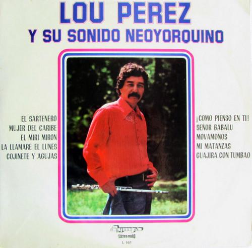 LOU PEREZ – Y Su Sonido Neoyorquino (LP Olympo 1971,1973) 1