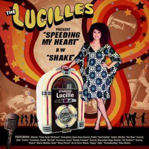 LUCILLES, THE - Speeding My Heart / Shake (SG Rolita 2013)