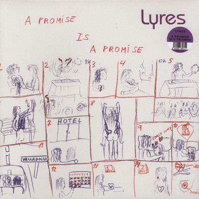 LYRES, THE - A Promise Is A Promise (LP,RE,GF,180g Munster 1988,2013)