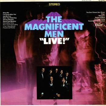 MAGNIFICENT MEN, THE - Live! (LP Capitol 1967)