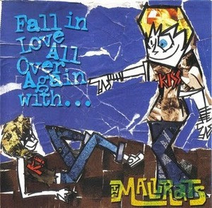 MALLRATS, THE - Fall In Love All Over Again With (LP Screaming Apple 2002)