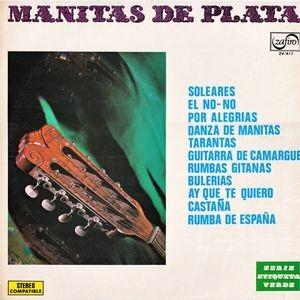 MANITAS DE PLATA - Manitas de Plata (LP Zafiro  1970)