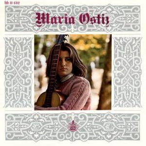 MARIA OSTIZ - Maria Ostiz (LP Hispavox  1967)