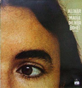 MARIA DEL MAR BONET - Alenar (LP,GF Ariola 1977)