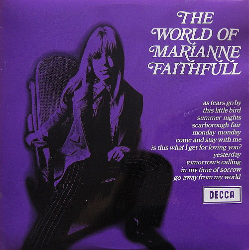 MARIANNE FAITHFULL – The World Of (LP Decca 1969) 1