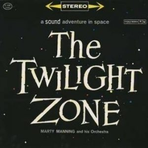 MARTY MANNING AND HIS ORCHESTRA - The Twilight Zone (LP,RE Sonitron 1961)
