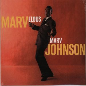 MARV JOHNSON - Marvelous Marv Johnson (LP,RE Rumble 1960,2011)