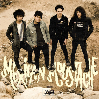MEXICAN MOUSTACHE - Unga Unga / Swamp Thing / Pobre Niña / La Noche del Cazador / Rubia Siniestra (EP Discos Jaguar 2011)