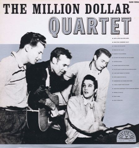 MILLION DOLLAR QUARTET, THE – The Million Dollar Quartet (LP CFE 1985) 1