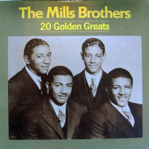 MILLS BROTHERS, THE - 20 Golden Greats (LP Nostalgia 1985)