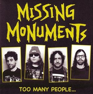MISSING MONUMENTS - Too Many People (EP KOTJ 2014)