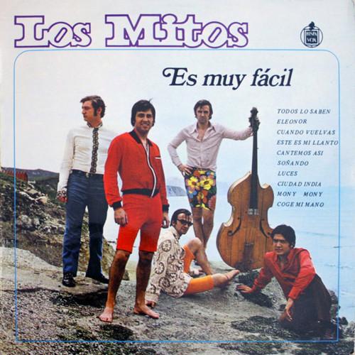 MITOS, LOS – Es Muy Facil (LP Hispavox 1969,1981) 1