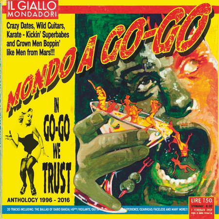 MONDO A GO-GO - In Go-Go We Trust. The Anthology (LP,Red Trash Wax 2015)