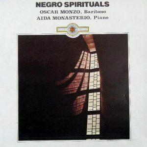 OSCAR MONZO & AIDA MONASTERIO - Nego Spirituals (LP Doblon 1983)