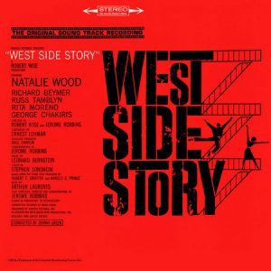 LEONARD BERNSTEIN - West Side Story BSO OST (LP,GF,RE CBS  1957,1983)