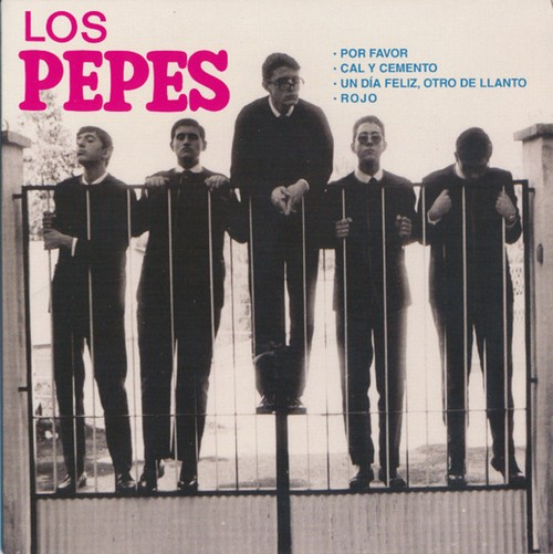 PEPES, LOS - Por Favor (EP,Green Munster Records 2016)
