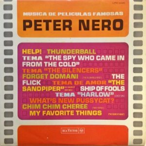 PETER NERO - Musica de Peliculas Famosas (The Screen Scene) (LP RCA Victor 1966)