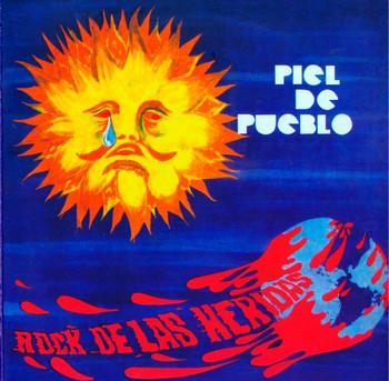 PIEL DE PUEBLO - Rock de las Heridas (LP,RE,180g Beat Generation 1972,2012)