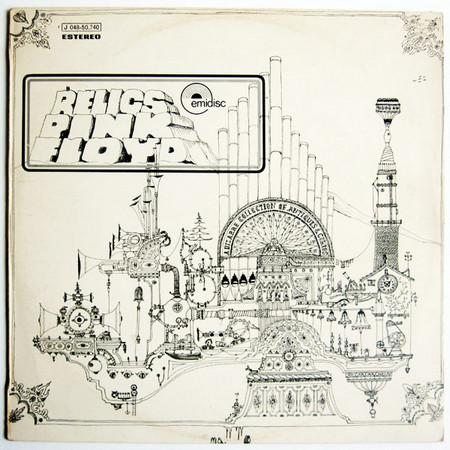 PINK FLOYD - Relics (LP,RE Emi 1971,1987)
