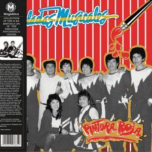 PINTURA ROJA - Pinceladas Musicales (LP,GF,RE,Red Magnetica 1985,2019)