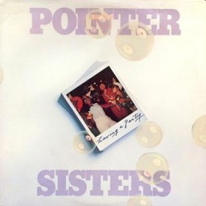 POINTER SISTERS - Having a Party (LP ABC Blue Thumb  1977)