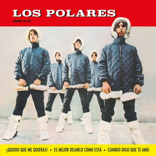 POLARES, LOS - Quiero Que Me Quieras (EP Madmua Records 2018)