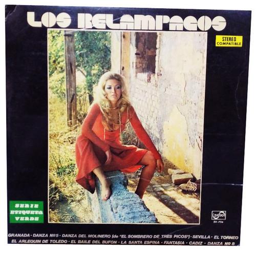 RELAMPAGOS, LOS - Los Relampagos (LP,RE Zafiro 1967,1972)