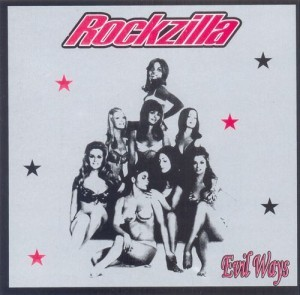 ROCKZILLA - Evil Ways (LP GP Records 2002)
