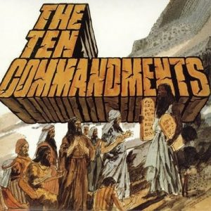 SALAMANDER - The Ten Commandments (LP,RE Guerssen 1971,2011)