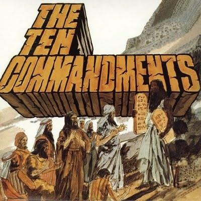 SALAMANDER - The Ten Commandments (LP,RE Guerssen 1971,2011)