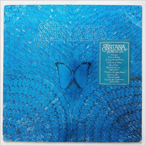 SANTANA - Borboletta (LP CBS 1974)