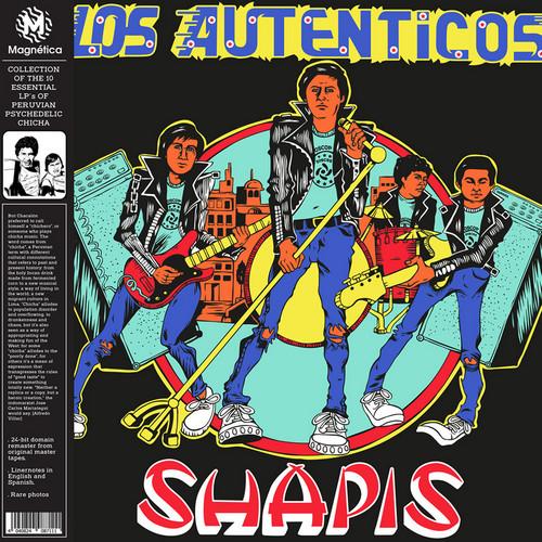 SHAPIS, LOS - Los Autenticos (LP,GF,RE Magnetica 1982,2018)