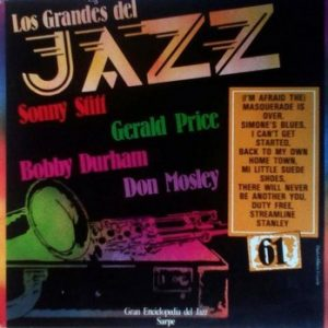 SONNY STITT - Back To My Home Town (Los Grandes del Jazz #61) (LP Sarpe  1979)