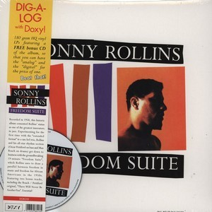 SONNY ROLLINS - Fredom Suite (LP+CD,RE,180gg Doxy 1958,2012)
