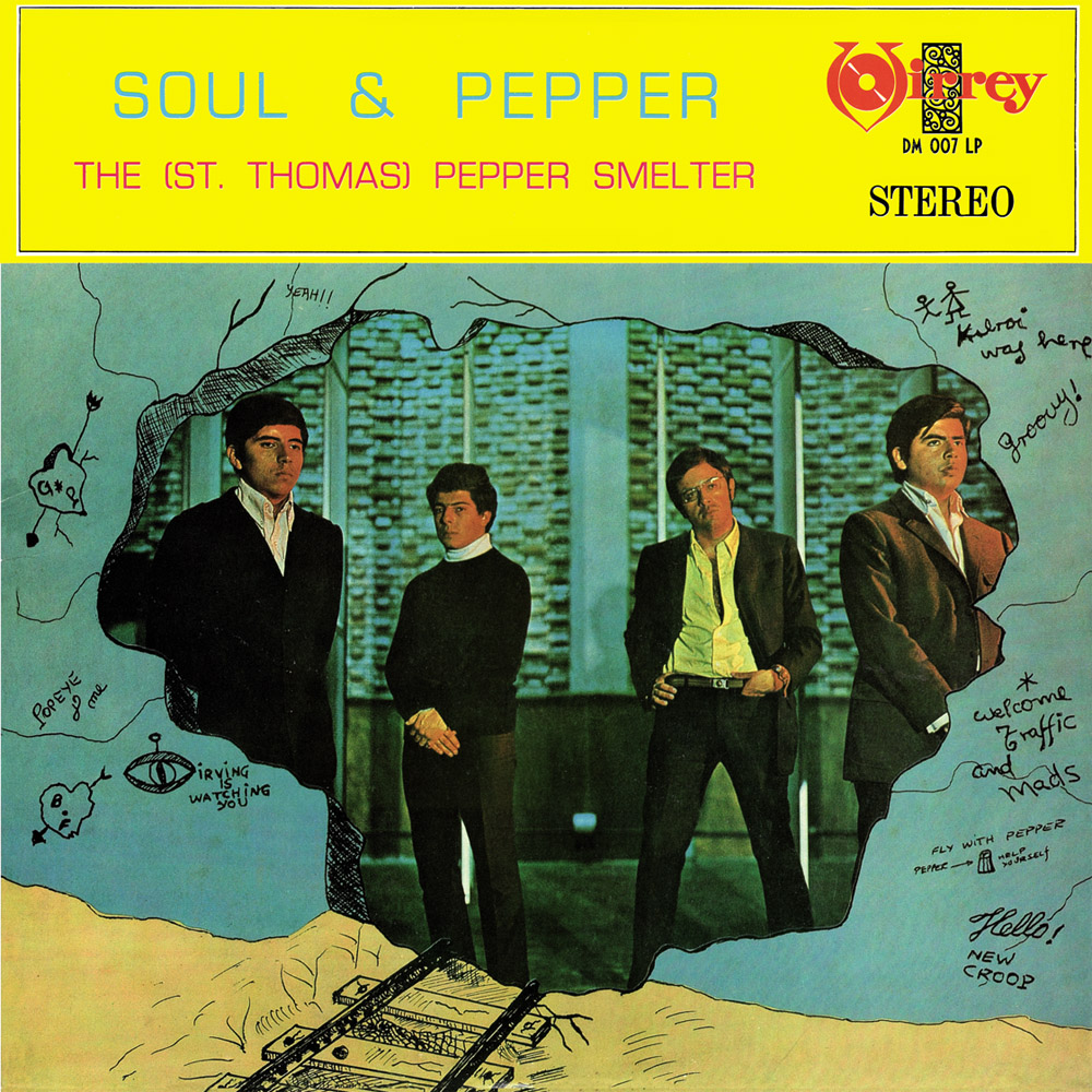 ST THOMAS PEPPER SMELTER - Soul & Pepper (LP,RE Discos Monterey 1969,2020)