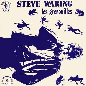 STEVE WARING - Les Grenouilles (U.S.A.) (LP,RE,GF Le Chante Du Monde 1970)
