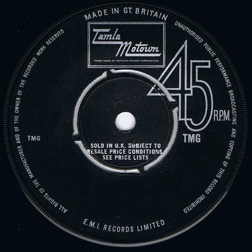 TEMPTATIONS, THE - Papa Was a Rollin' Stone (vocal) / (instrumental) (SG Tamla Motown 1973)