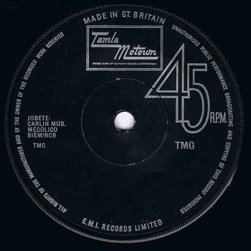 EARL VAN DYKE - 6 by 6 / All For You (SG Tamla Motown 1970)